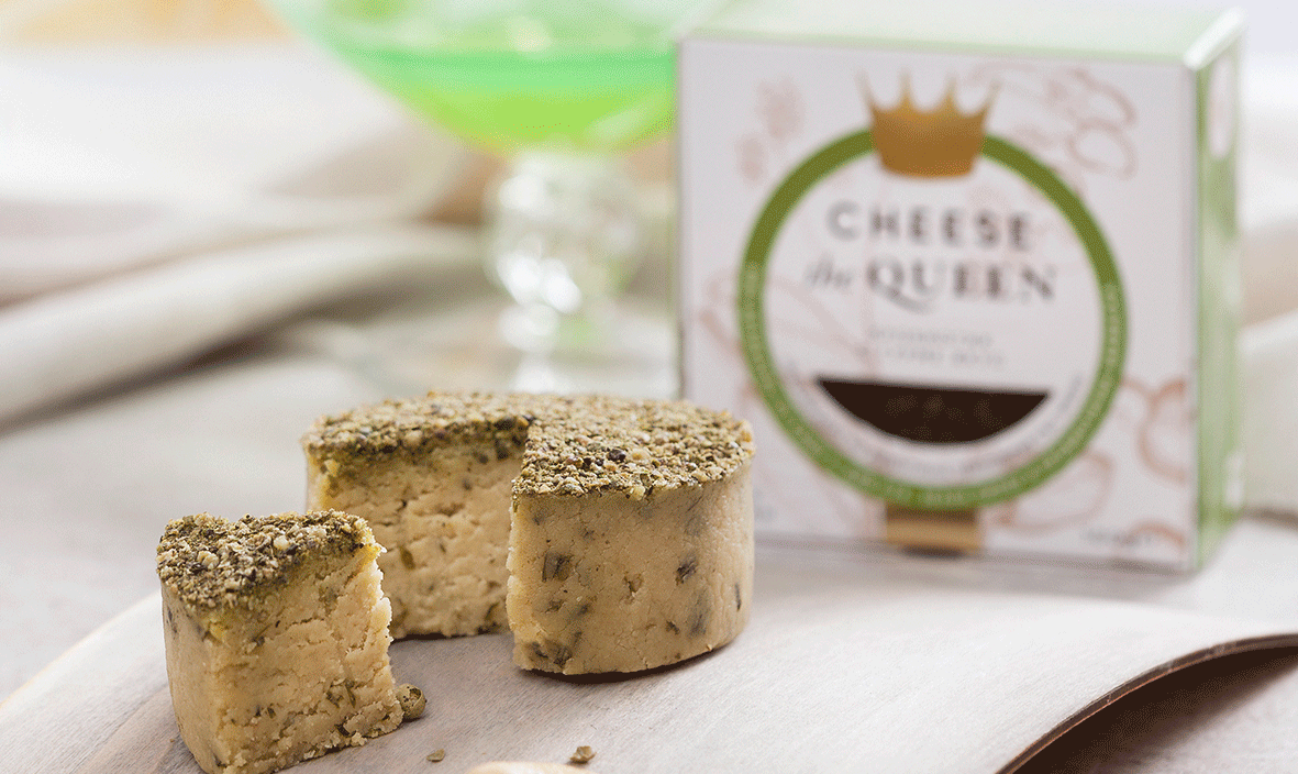 vegan cheese startup